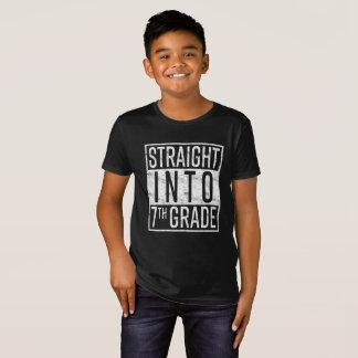 Camiseta Hetero na 7a categoria de volta à escola