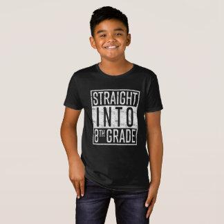 Camiseta Hetero na 8a categoria de volta à escola