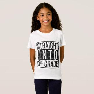 Camiseta Hetero na ó categoria de volta à escola