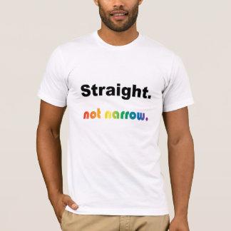 """Camiseta """"Hetero,"""" T nao estreito!"""