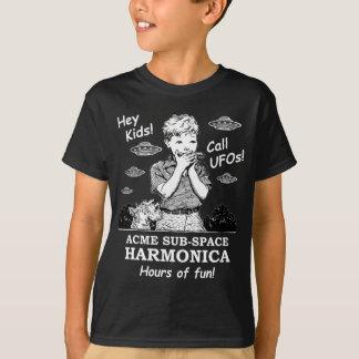 Camiseta Hey miúdos! Chamada UFOs!
