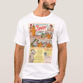 Camiseta Hey, ZIPPY! A mente do YER está vagueando!!