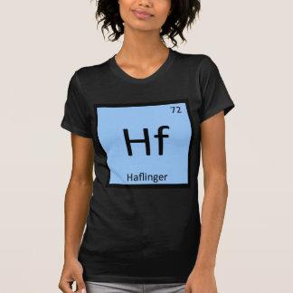 Camiseta Hf - Cavalo da mesa periódica da química do pônei