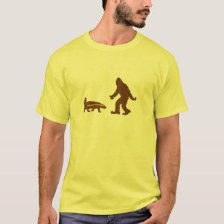 Camiseta Híbrido de Sasquatch do texugo de mel