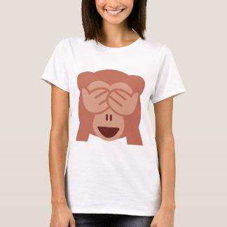 Camiseta Hide and seek Emoji Monkey