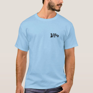 Camiseta Hieroglyphics do cérebro (bolso)