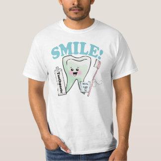 Camiseta Higienista dental do dentista