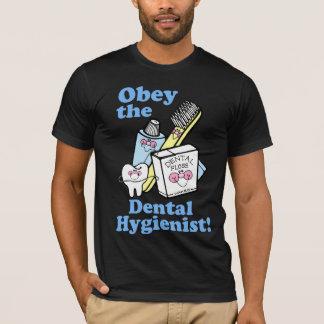 Camiseta Higienista dental engraçado