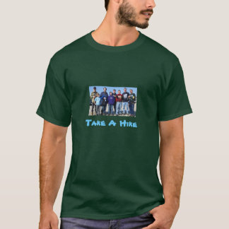Camiseta hike2010, tomam uma caminhada