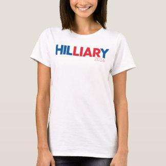 Camiseta Hil-Mentiroso-y Clinton 2016