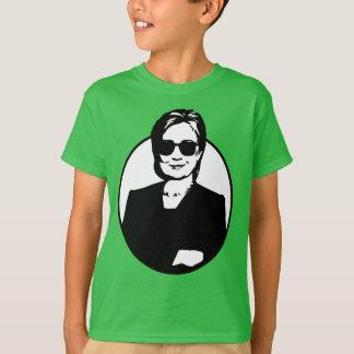 Camiseta Hillary Clinton é o T de um miúdo de Badass