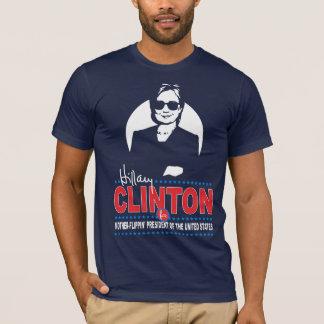 Camiseta Hillary Clinton para o presidente da Mãe-Flippin'