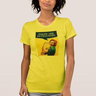 Camiseta Hillary o poster do rebitador - quebra o