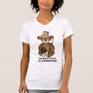 Camiseta Hillbilly com uma ATITUDE! t-shirt