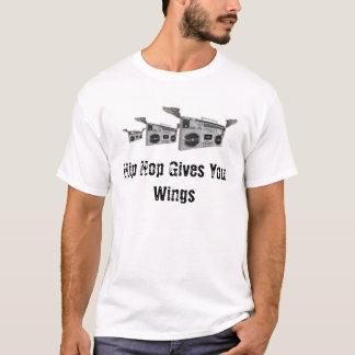 Camiseta Hip Hop dá-lhe as asas