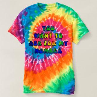 Camiseta Hipnótico - você quer meu número