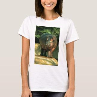 Camiseta Hipopótamo de anão (Choeropsis liberiensis)