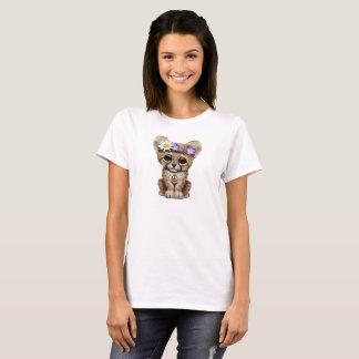Camiseta Hippie bonito de Cub da chita