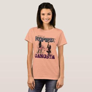 Camiseta Hippie Gangsta subtil