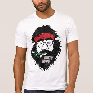Camiseta Hippie sujo