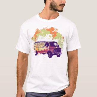 Camiseta Hippie Van de Chevy dos anos 70