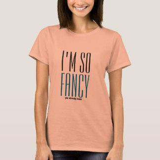 Camiseta hipster eu sou assim que ideia extravagante do