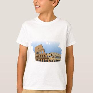 Camiseta História antiga Italia do coliseu de Coliseo Roma