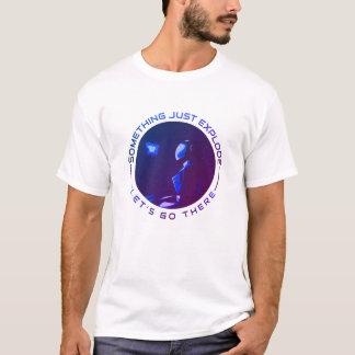 Camiseta História do explorador de espaço - algo apenas
