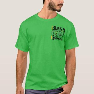 Camiseta História-HiSStory preta Front&Back