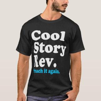 Camiseta História legal Rev-escura