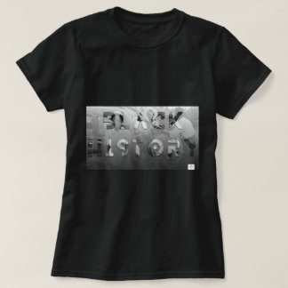 Camiseta História preta