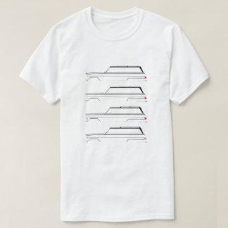 Camiseta História sem redução de Wagoneer do jipe na