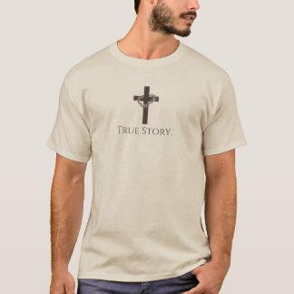 Camiseta História verdadeira - cristão