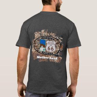 Camiseta ~ histórico Winslow da rota 66, arizona