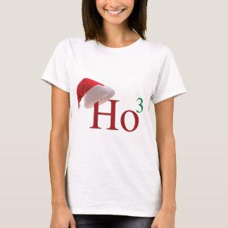 Camiseta Ho Ho Ho 3 Felizes Natais ao ó poder