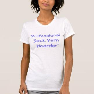 Camiseta Hoarder profissional do fio da peúga