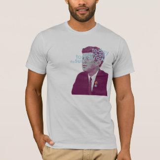 Camiseta Hoje a lua, amanhã o t-shirt de Sun JFK