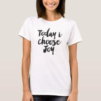 Camiseta Hoje eu escolho a alegria