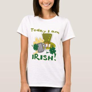 Camiseta Hoje eu sou irlandês