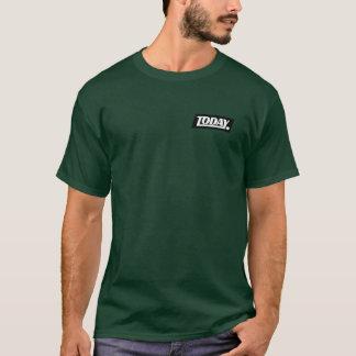 Camiseta Hoje. T do verde do exército do clube de Foto