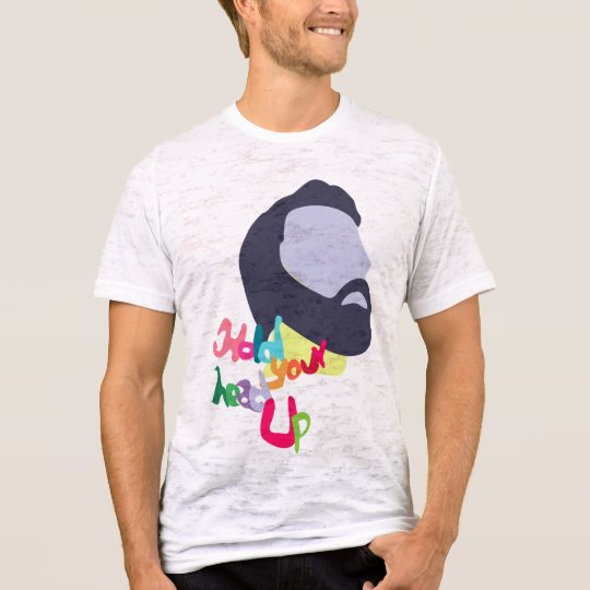 Camiseta hold your head up