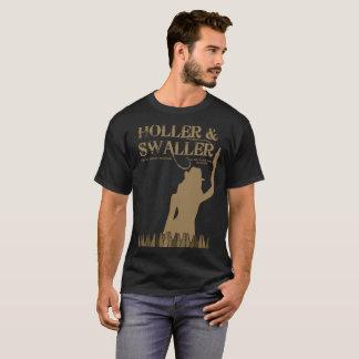 Camiseta Holler dos homens & t-shirt de Swaller