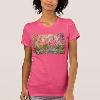 Camiseta Hollyhocks de Giverny