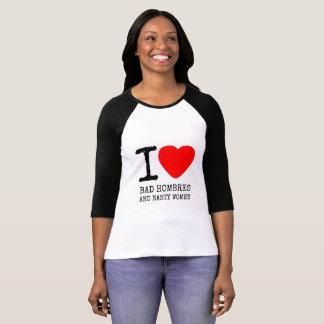 Camiseta Hombres maus & mulheres desagradáveis