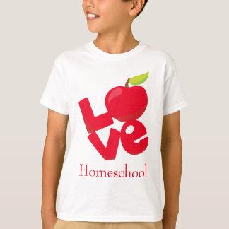 Camiseta Home School Love