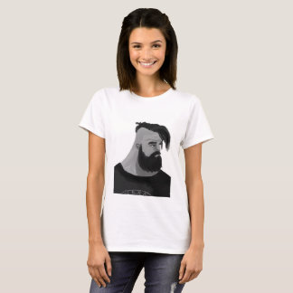 Camiseta Homem Barbuo