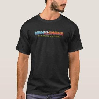 Camiseta HOMEM CONTRA o t-shirt preto dos homens do COBRA