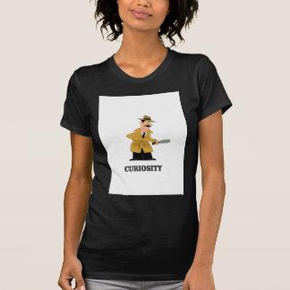 Camiseta homem da curiosidade