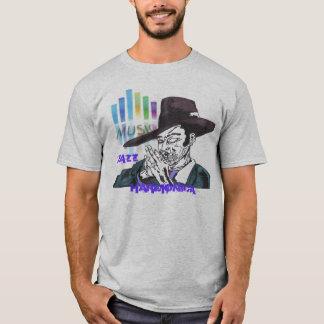 Camiseta homem da harmônica