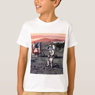 Camiseta Homem da lua de Hollywood